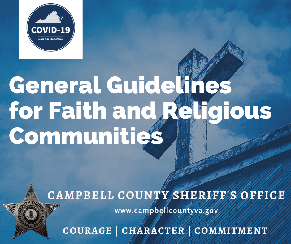 CCSO - Faith and Religious Communities