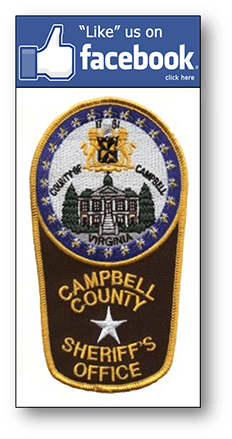 Picture of Campbell County Sheriff's Office badge