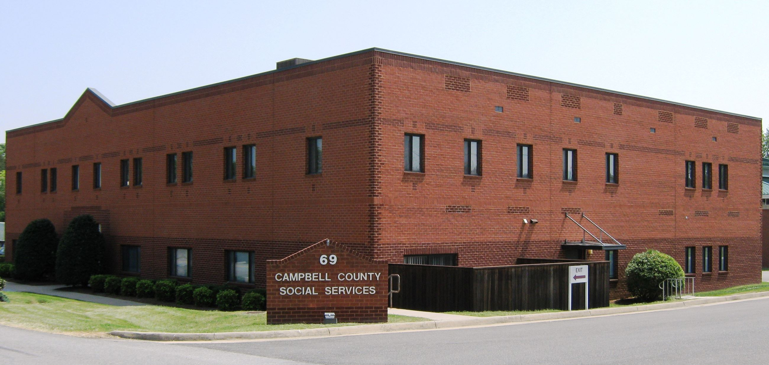 Campbell County Social Services Building