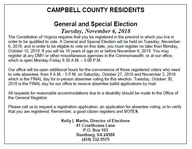 CCRO Election Notice